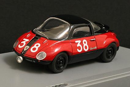 Car Pin Models Fiat Abarth 750 Vignale Goccia Mille Miglia
